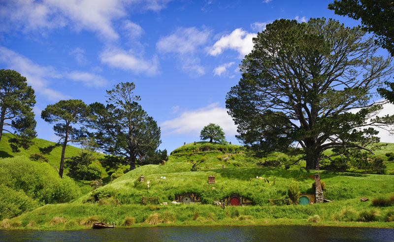 new zealand waikato matamata hobbiton village2 tnz