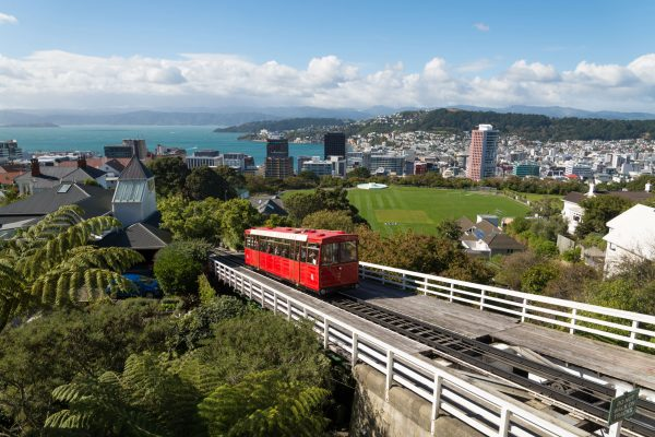 new zealand wellington cable car istk