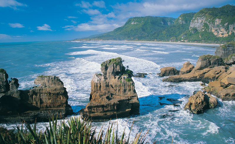 new zealand west coast punakaiki rock formations twc