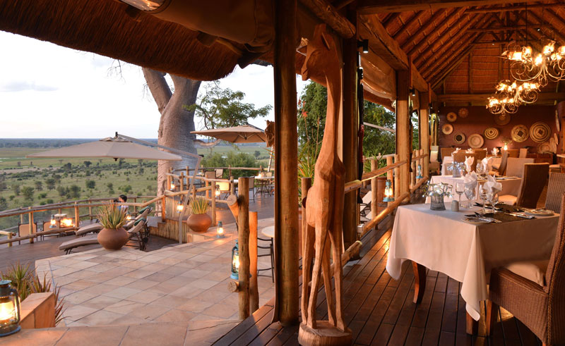 ngoma safari camp dining