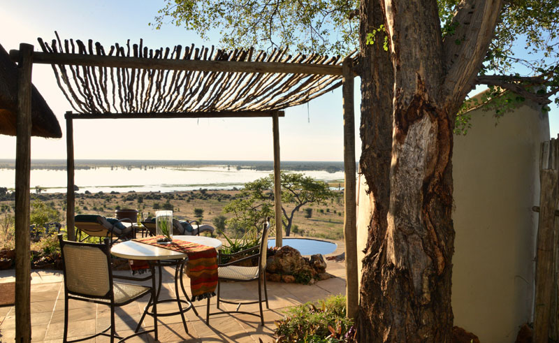 ngoma safari camp room deck