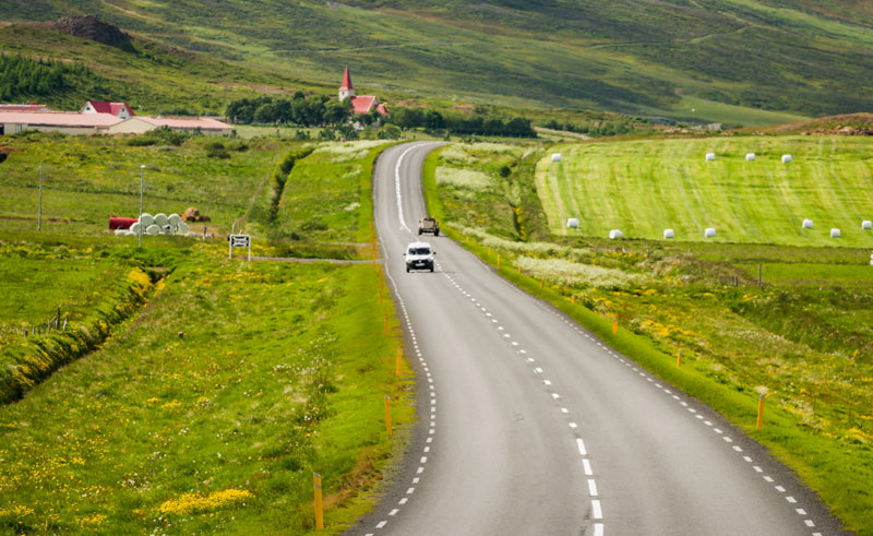 north iceland eyjafjordur open road rth