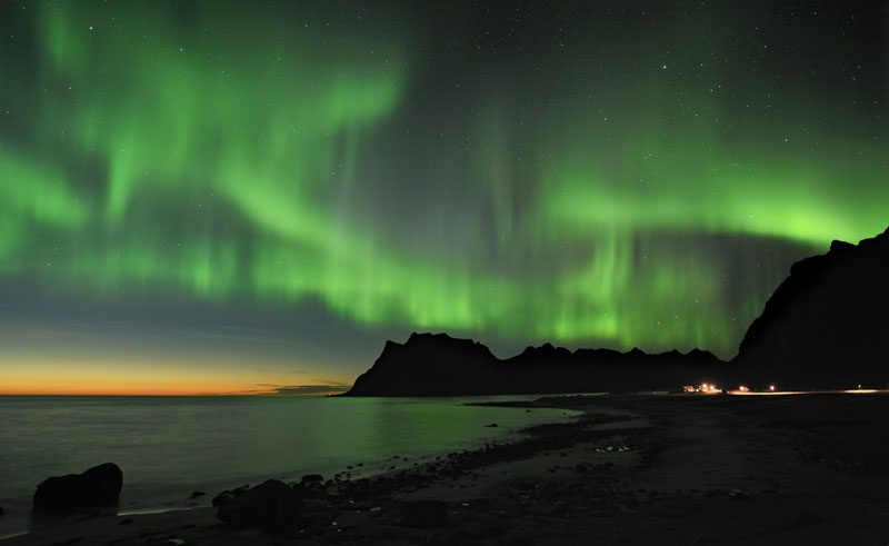 northern norway aurora borealis vn