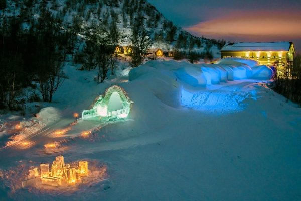 northern norway exterior view kirkenes snowhotel
