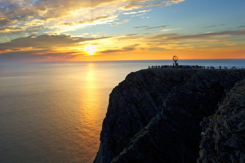 northern norway midnight sun north cape vnor