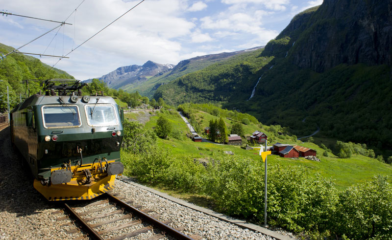 norway fjords flamsbana railway istock