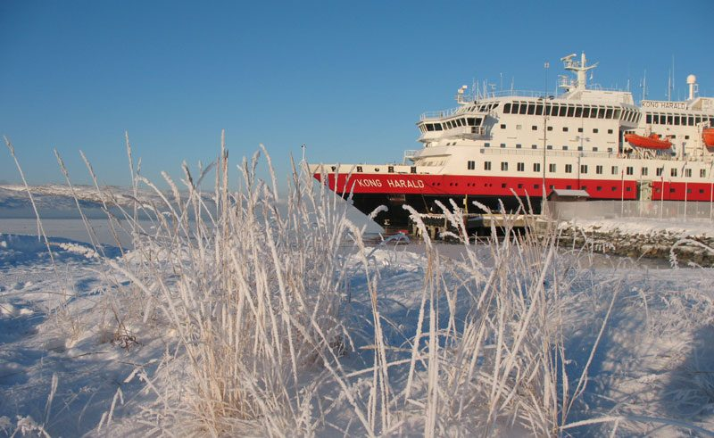 norway hurtigruten cruise winter hu