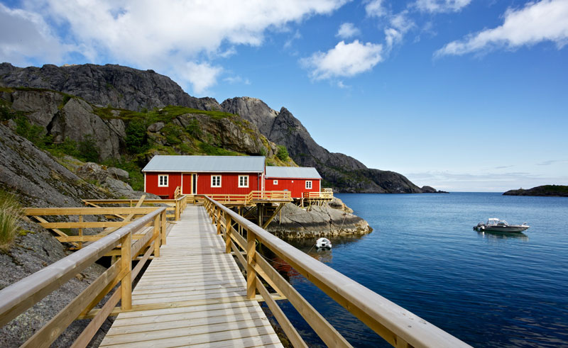 norway lofoten coastal house ap