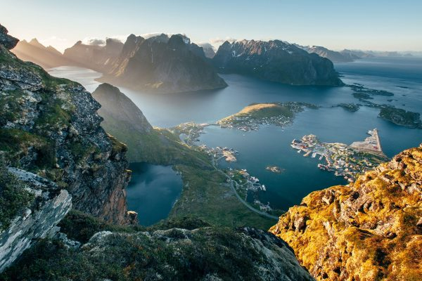 norway lofoten sweeping view geot