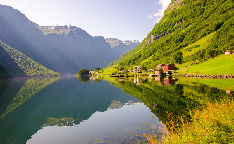 norway naeroyfjord cottages summer do