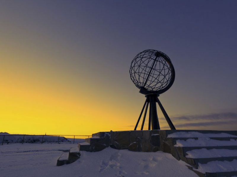 norway north cape winter istock