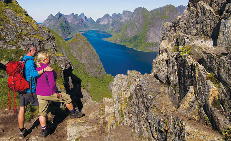 norway spectacular fjord views hiking tb