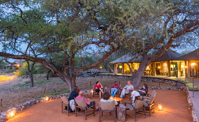 onguma tented camp communal area