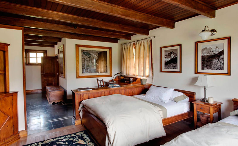 patagonia chacabuco lodge triple suite