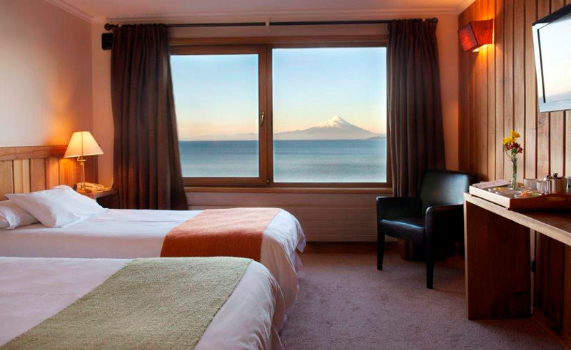 puerto varas bellavista twin with view