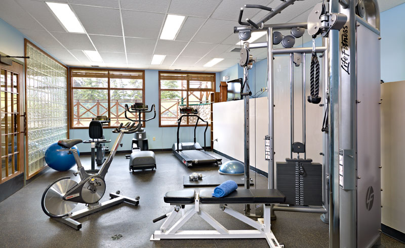 pyramid lake resort fitness area