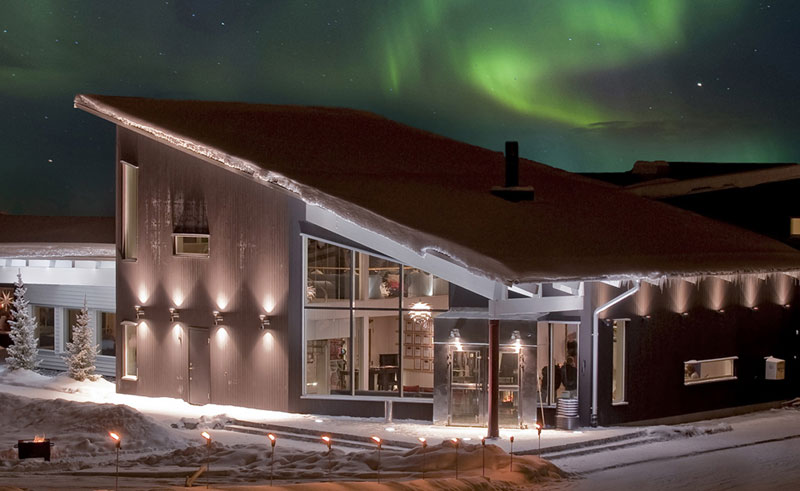ripan resort northern lights