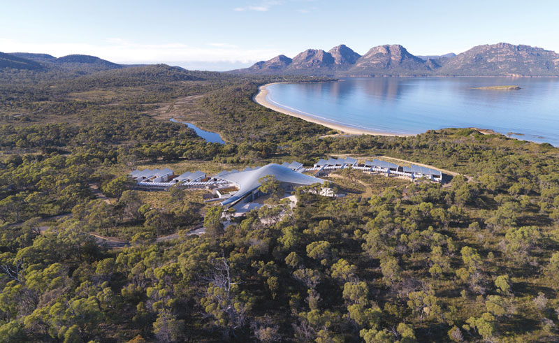 saffire freycinet view