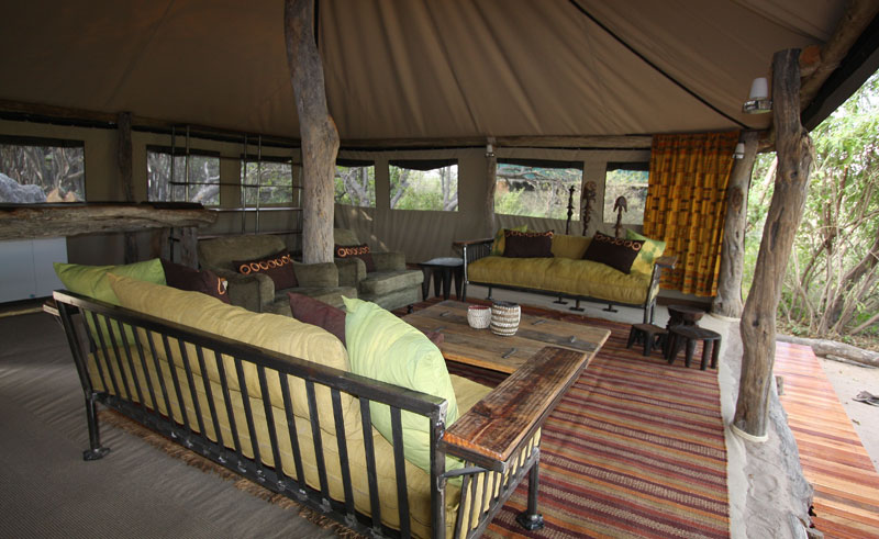 sango safari camp communal area