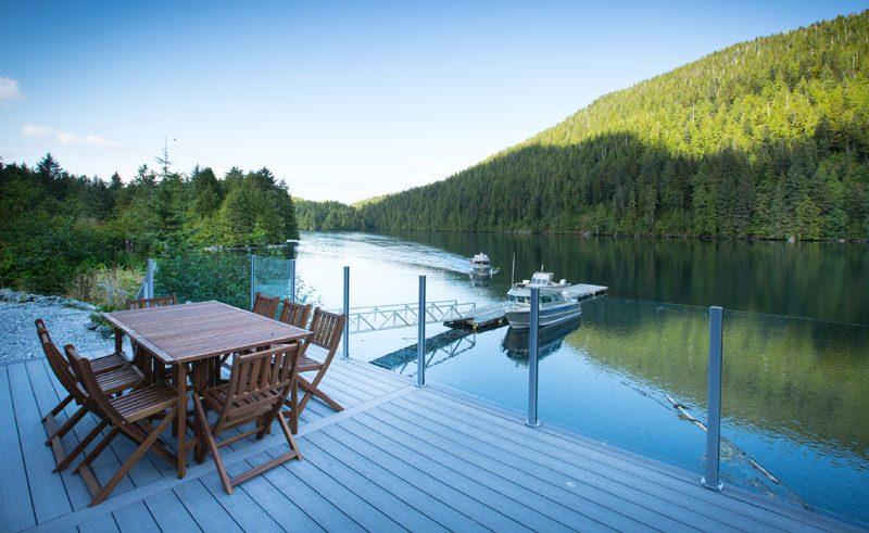 spirit bear lodge deck