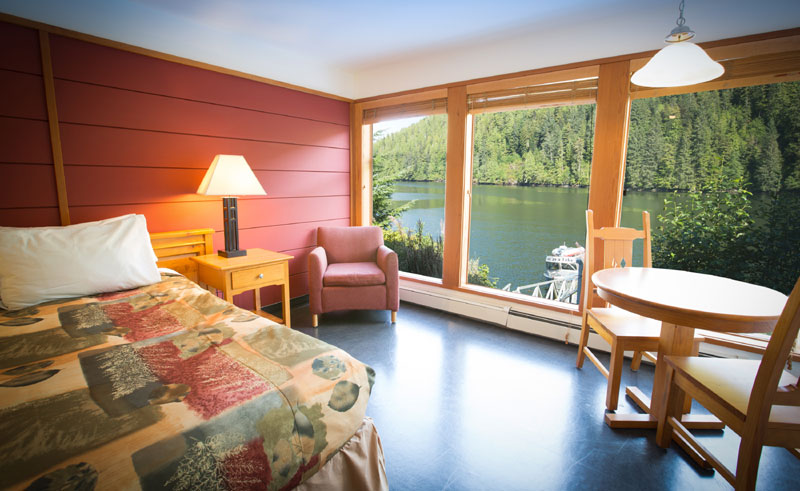 spirit bear lodge guestroom