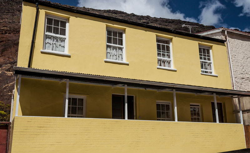 st helena the town house