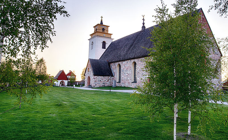 sweden lapland gammelstad church brandon lodge