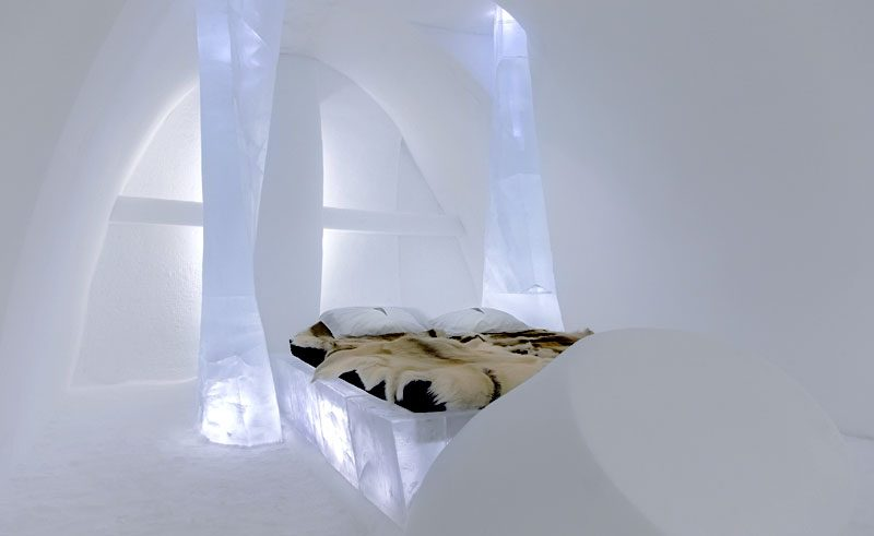 sweden lapland icehotel art suite two as one ph