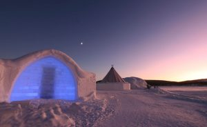 sweden lapland icehotel rear istock