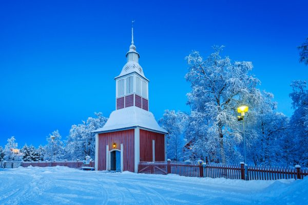 sweden lapland jukkasjarvi church rth