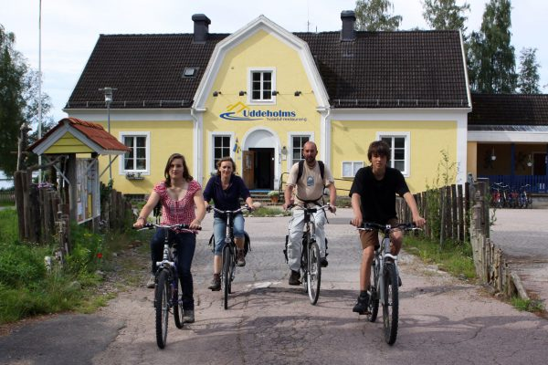 sweden varmland family cycling wtrwld