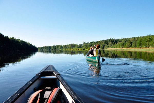 sweden varmland wilderness canoes wtrwld