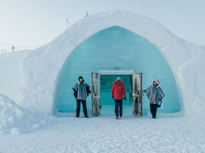 swedish lapland icehotel main entrance welcome gte