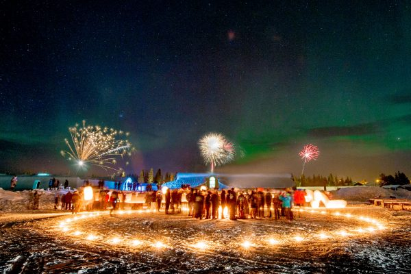 new year in lapland for adults
