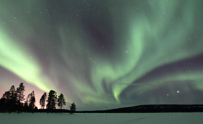 swedish lapland northern lights wg