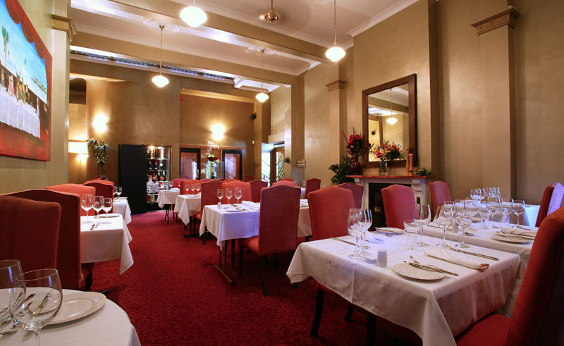 the county hotel dining room