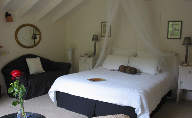 the peppertree guestroom