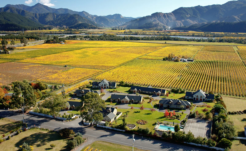 vintners retreat aerial