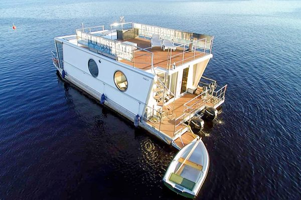 west finland houseboat