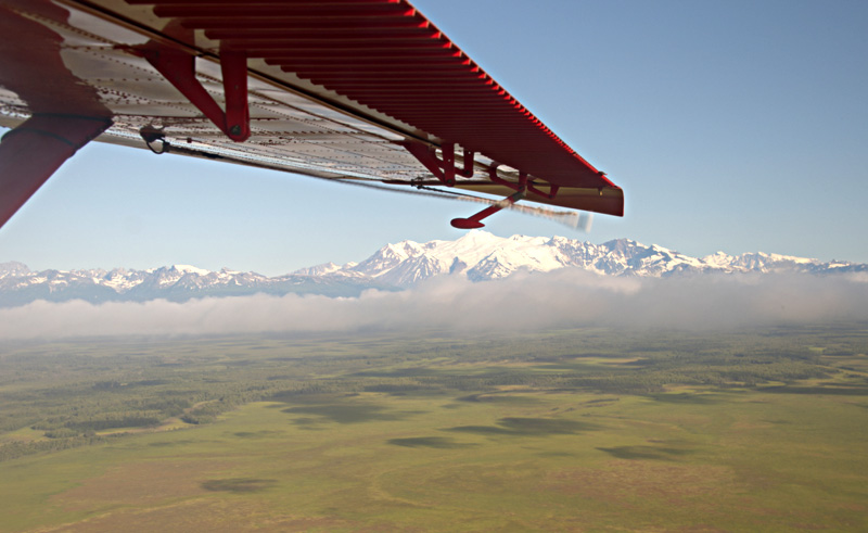 alaska flying over denali istk