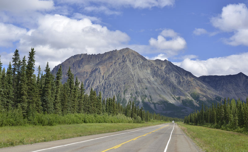 alaska south parks highway istock