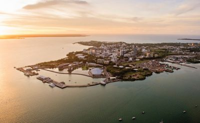 australia northern territory darwin harbour sunset tnt