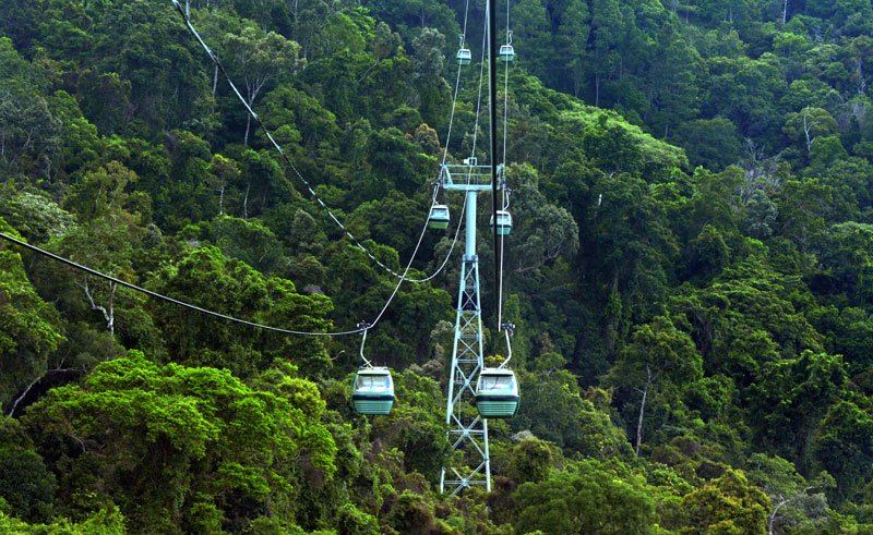 australia queensland kuranda skyrail is