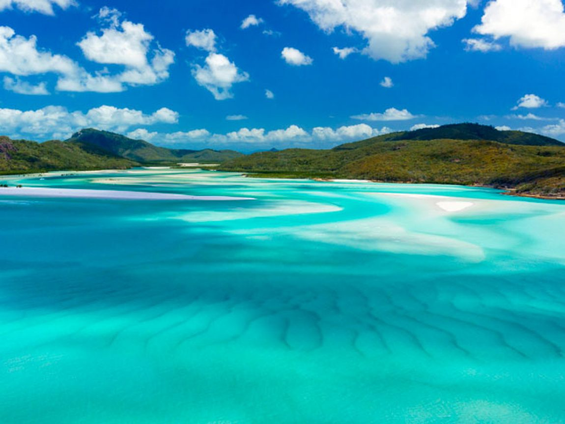 australia queensland whitsundays whitehaven beach