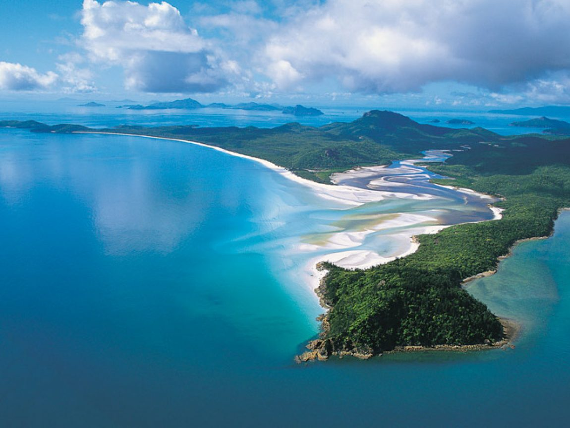 australia queensland whitsundays whitehaven beach tq