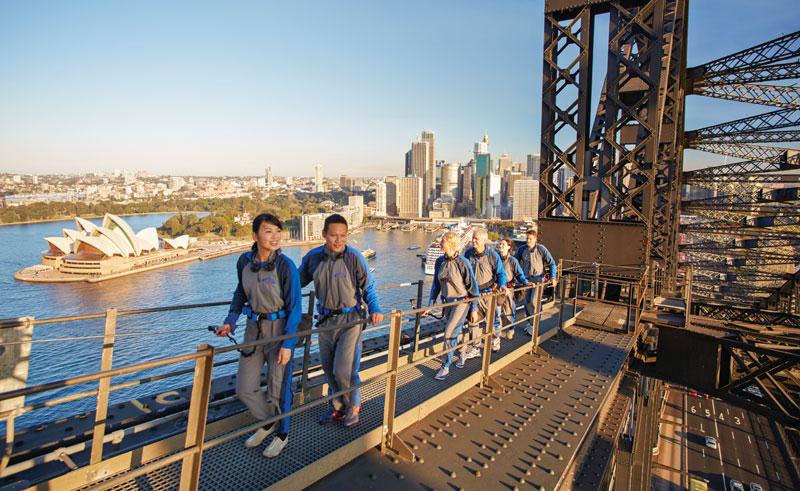 australia sydney harbour bridge climb