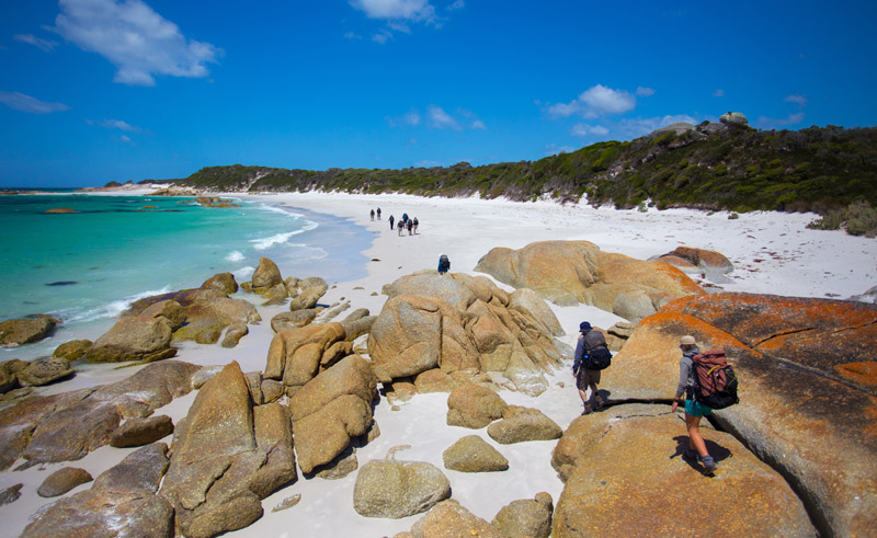 australia tasmania bay of fires walk tt