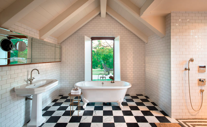 babylonstoren farm hotel bathroom