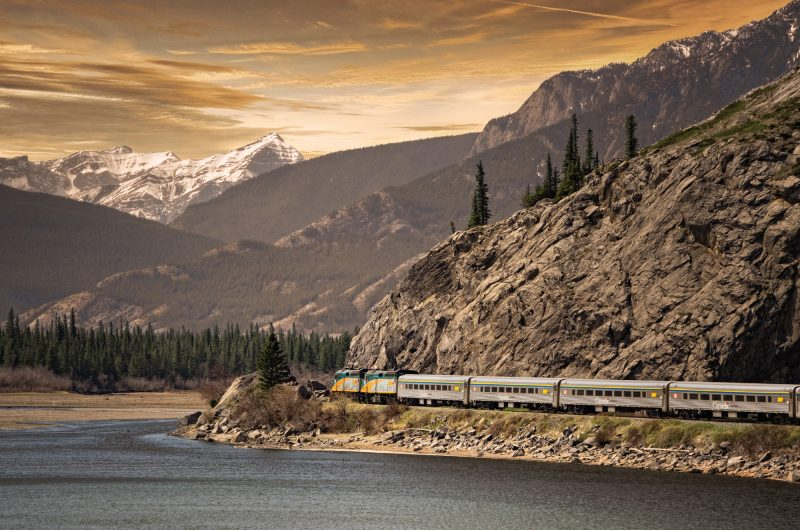 VIA Rail's 'The Canadian'