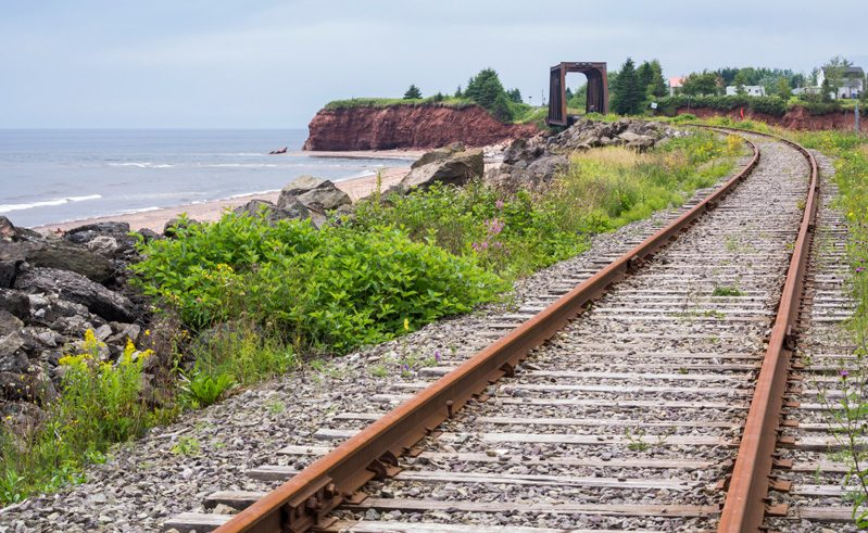 canada via rail the ocean route track